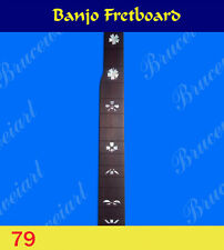 Free Shipping, Banjo Part - Rosewood Slotted Fretboard w/MOP Art Inlay (79-3)