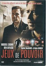 DVD ZONE 2--JEUX DE POUVOIR--CROWE/AFFLECK/MIRREN/MC ADAMS/MAC DONALD