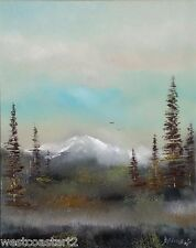 Allan Dagnall West Vancouver Island Study Painting Canadian Listed Retail $995