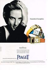 PUBLICITE ADVERTISING 104  1998  PIAGET   montre MISS PROTOCOLE