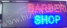 Large 2 Mode Flashing BARBER  Hairdressing  led new  window Shop signs