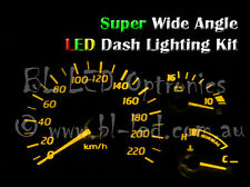 Amber Yellow T10 194 168 6-LED Dash Kit For Nissan 300ZX Z32 Fairlady Z