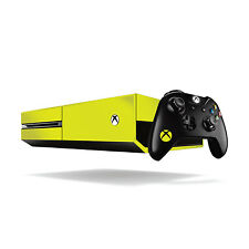 Xbox One Fluorescente Vinilo Wrap: Amarillo Brillante / Xbox One Skin Adhesivo Cover...
