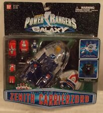 Power Rangers Lost Galaxy - Zenith Carrierzord Micro Playset By Bandai (MOC)