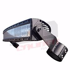 "Clamp-on Roll Cage LED 40"" Light Bar and Rack Mount Polaris RZR S 900 2015 2016"