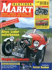 1995 OLDTIMER MARKT MAGAZINE 8 AUDI 100 LS TEST DEUTSCH GERMAN