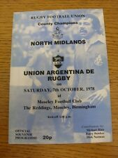 08/08/1998 Rugby Union Programme: Norwich Western Province v Telkom/Callmore Eas