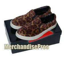 WOMEN'S EMERGENCY EXIT 'LEOPARD' FASHION SLIP-ON SNEAKERS SHOES 8.5M MEDIUM NEW!