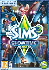 The Sims 3 ShowTime Expansion Pack Game PC & MAC - Brand New Free P&P UK