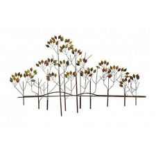 Benzara 97985 Metal Wall Art Decor Trees and Great Nature Sense Sculpture