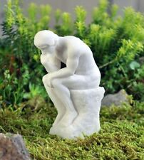 Miniature Dollhouse Fairy Garden Thinker Statue Pick - Buy 3 Save $5