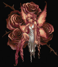 Rose Fairy Counted Cross Stitch Kit Fairies/Fantasy Free P&P