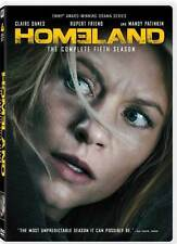 Homeland:The Complete Fifth Season 5 Five (DVD, 2017, 4-Disc Set) New Showtime