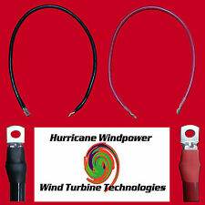 Set of Battery Inverter Cables 10' Red & Black 4/0 AWG Gauge Solar RV Car Boat