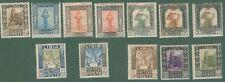 LIBIA. Anno 1921. Serie Pittorica. Catalogo Sassone serie 5, numeri 21 - 32.