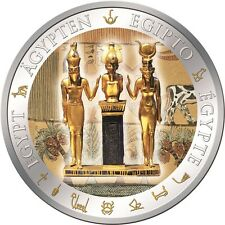 Fiji 2012, OSIRIS, Egypt, only 999 made! $1 Silver Proof Coin, Isis, Horus