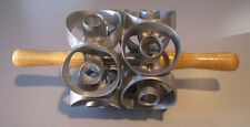 """1each 2-1/2"""" size two row donut cutter- cuts 12 cuts - new from factory"""