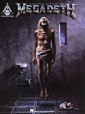 Megadeth Countdown To Extinction Learn to Play Rock Guitar TAB Music Book