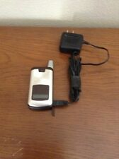 MOTOROLA i776 BOOST MOBILE - FAIR CONDITION USED (Brown and Silver)