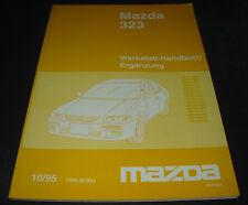 Werkstatthandbuch Mazda 323 Typ BA Kupplung Getriebe Karosserie Elektrik Kühlung