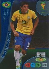 N°329 PAULINHO FAN'S FAVOURITE  PANINI CARD ADRENALYN WORLD CUP BRAZIL 2014