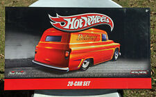 Hot Wheels Delivery Sweet Treats 20 Car Box Set 66 Dodge A100 55 Chevy Panel!!!!