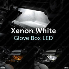 VW Golf Mk4 MK IV 4 Glove Box Xenon White LED Light Bulb Upgrade Kit