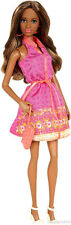Barbie Fashionistas African American Pink Dress Grace Doll New!