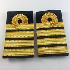 Embossed Rank Slide, RN, Royal Navy Captain, Army, Military, Gold, Badge, 866