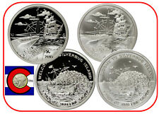 2015 Finding Silverbug Island 1 oz Silver 2 Rounds -- Proof & Uncirculated Coins