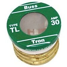 NEW LOT OF (16) TL-30 BUSSMAN 30 AMP SCREW IN  BASE HOUSE PLUG FUSES 4182135