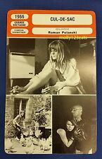 UK Psychological Thriller Cul-De-Sac Roman Polanski French Film Trade Card