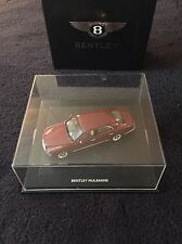 Bentley Mulsanne Red Minichamps Official 1:43 Model NEW OEM BL857 Gift
