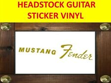 FEND GOLD MUSTANG LEFT HANDED ZURDO VISIT MY STORE CUSTOMIZED GUITAR BASS