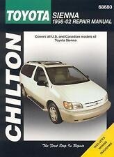 Toyota Sienna, 1998-2002 (Chilton's Total Car Care Repair Manuals), Chilton