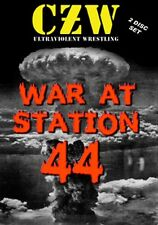 Combat Zone Wrestling: War At Station 44 DVD-R CZW