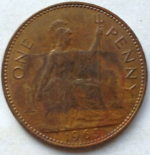 Great Britain 1 Penny 1965 coin