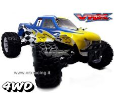 MONSTER TRUCK 1/10 OFF-ROAD ELETTRICO BRUSHLESS 4WD RTR 2.4GHZ LIPO 7.4V VRX