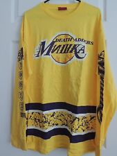 Mishka NYC Long Sleeve Death 78 Lakers Style Logo T-Shirt Men's XL NWT
