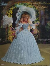 Paradise Crochet Collector Costume Fashion Doll Pattern English Country Vol. 57