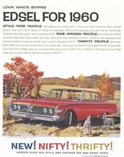 1960 EDSEL - 8X10 REPRODUCTION PHOTO