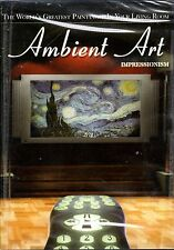 AMBIENT ART: IMPRESSIONISM WORLD'S GREATEST PAINTINGS VIRTUAL GALLERY w/ MUSIC!