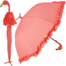 Flamingo Umbrella by Fallen Fruits