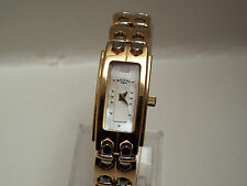 Ladies Rotary Quartz Gold Plated & Stainless Steel Wrist Watch LB02146