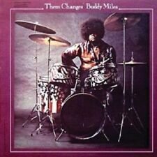 BUDDY MILES - THEM CHANGES  CD  8 TRACKS POP / FUNK  NEU