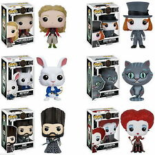 Set of 6: Funko POP! Disney Alice Through The Looking Glass Vinyl Figures