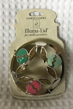 NEW Yankee Candle Illuma Lid Jar Candle Topper Cottontail Collection Golden Eggs