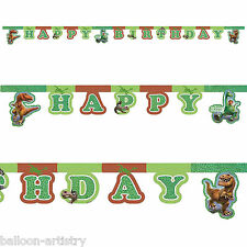 Disney Pixar's The Good Dinosaur Happy Birthday Party Letter Banner Decoration