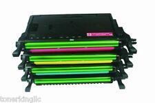 4PK H/Y Toner for SAMSUNG CLP-610ND CLP660DN CLX-6200FX CLX-6210FX CLP K660B