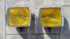 Mercedes W114 W115 W111 W112 W108 W109 BMW 2002 Bavaria BOSCH Yellow Foglights